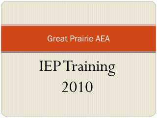 Great Prairie AEA