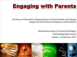Engaging with Parents
