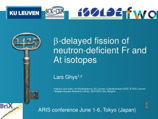 ARIS conference June 1-6, Tokyo (Japan)