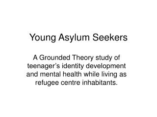 Young Asylum Seekers