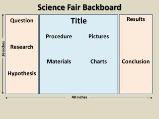 Science  Fair Backboard