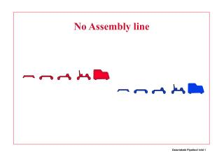 No Assembly line