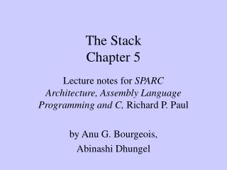 The Stack Chapter 5