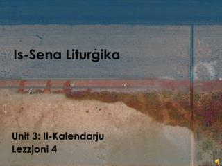 Is-Sena Litur ġika