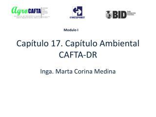 Capítulo 17. Capítulo Ambiental CAFTA-DR