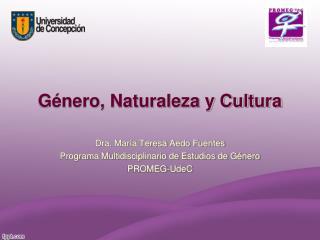 Género, Naturaleza y Cultura