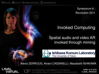 Symposium 6 :