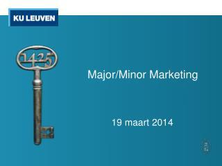 Major/Minor Marketing