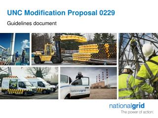 UNC Modification Proposal 0229