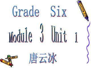 Module  3  Unit  1