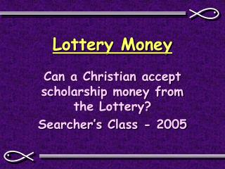 Lottery Money