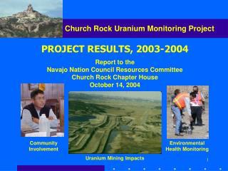 Church Rock Uranium Monitoring Project