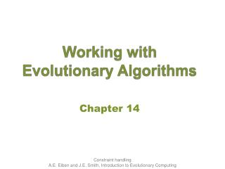Working with Evolutionary Algorithms