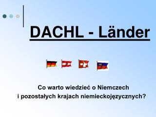 DACHL - Länder