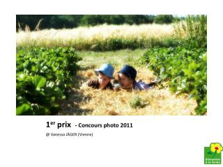 1 er  prix   - Concours photo 2011
