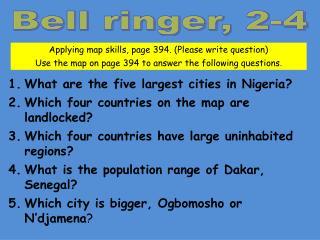 Bell ringer, 2-4
