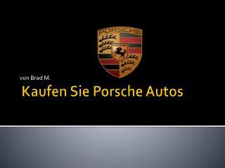 Kaufen Sie  Porsche Autos