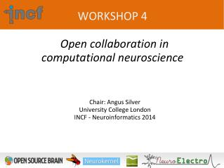 WORKSHOP  4 Open collaboration in computational neuroscience