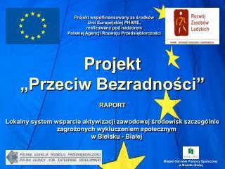 """Projekt """"Przeciw Bezradności"""" RAPORT"""