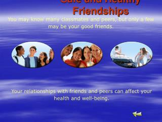 Safe and Healthy Friendships