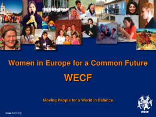 Women in Europe for a Common Future WECF