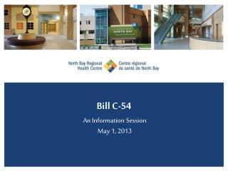 Bill C-54