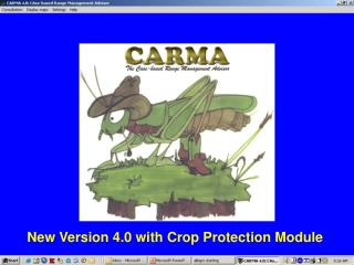 New Version 4.0 with Crop Protection Module