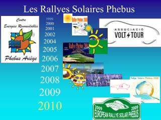 Les Rallyes Solaires Phebus