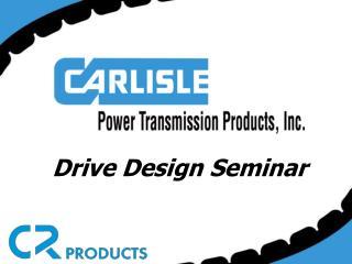 Drive Design Seminar