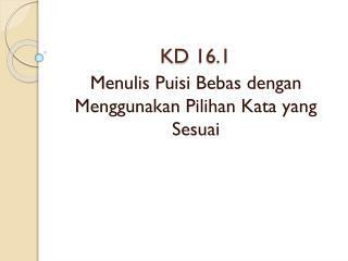 KD 16.1