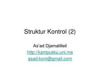 Struktur Kontrol (2)