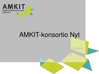 AMKIT- konsortio Nyt