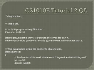CS1010E Tutorial 2 Q5.