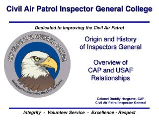Civil Air Patrol Inspector General College