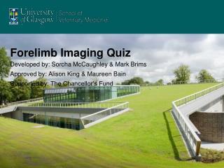 Forelimb Imaging Quiz