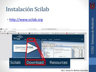Instalación  Scilab