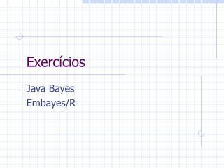 Exerc�cios