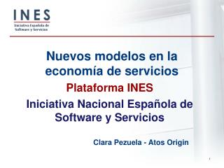 Nuevos modelos en la econom�a de servicios