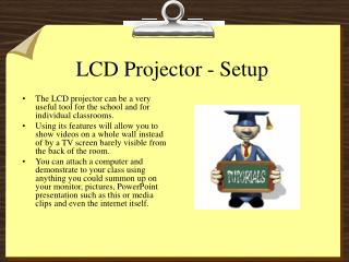 LCD Projector - Setup