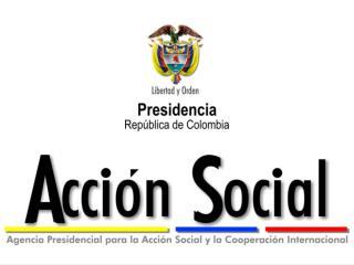 Política de Atención a Población en situación de desplazamiento en Colombia