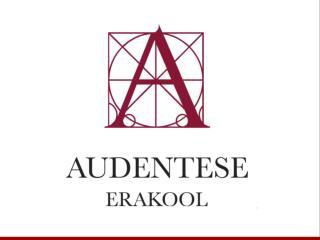 Audentese Erakooli rahuloluküsitluse tulemused