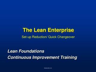 The Lean Enterprise