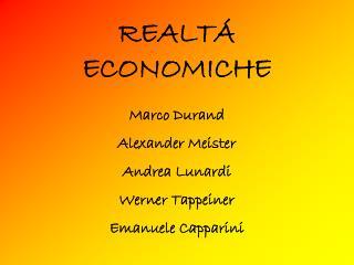 REALT Á ECONOMICHE