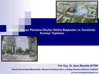 Yrd. Do�. Dr. As?m Mustafa AYTEN