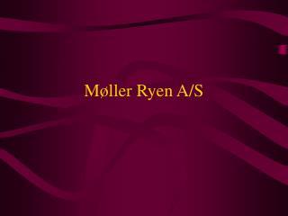 Møller Ryen A/S