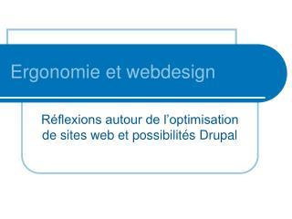 Ergonomie et webdesign