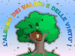 L'ALBERO DEI VALORI E DELLE VIRTU' !