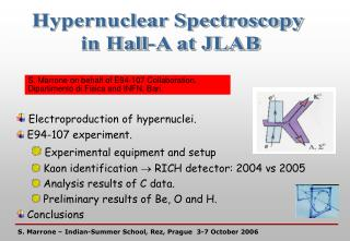 Hypernuclear Spectroscopy  in Hall-A at JLAB