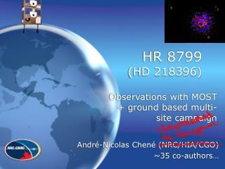 HR 8799  (HD 218396)