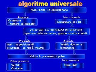 algoritmo universale